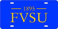Fort Valley State License Plate