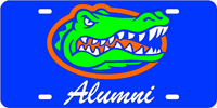 Gator Head Alumni Blue\Silver\Orange 05117