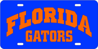 Florida Gators - Blue-Orange License Plate