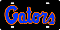 Gators Promotional License Plate