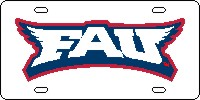 Florida Atlantic University Front Plate