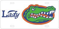 Lady Gator Head Plate