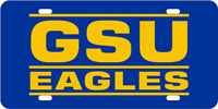 GSU Eagles Plate