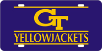 062069 Georgia Tech - GT Yellow Jackets Blue-Gold