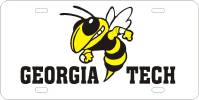 Georgia Tech - Yellow Jacket License Plate Custom