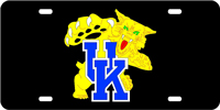 UK Wildcat License Plate
