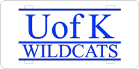 105117 Kentucky, University of - UK Wildcat Silver-Blue