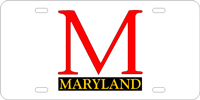Custom License Maryland University