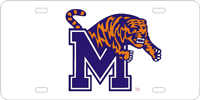 120042 Memphis, University of - M Tiger Silver-Blue