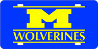 124101 Michigan, University of - M Wolverines Blue-Yellow