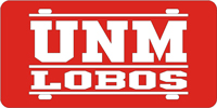 Custom License Plate New Mexico Lobos