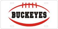 Custom Plate Buckeyes Football