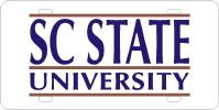 South Carolina State University Custom Auto Tag