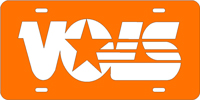190021 Tennessee, University of - VOLS Logo Orange-Silver