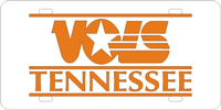 VOLS of Tennessee Plate