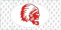 Newberry College Indian Plate